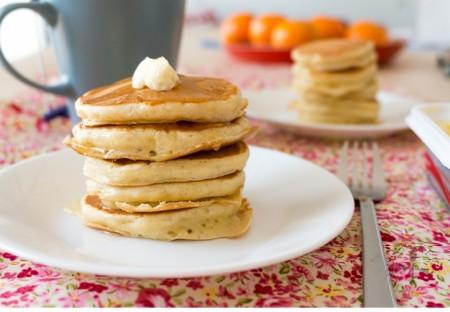 Glutenfrie amerikanske pannekaker